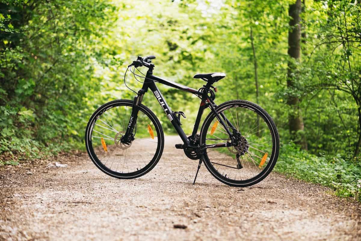 Zaparkovaný bicykel