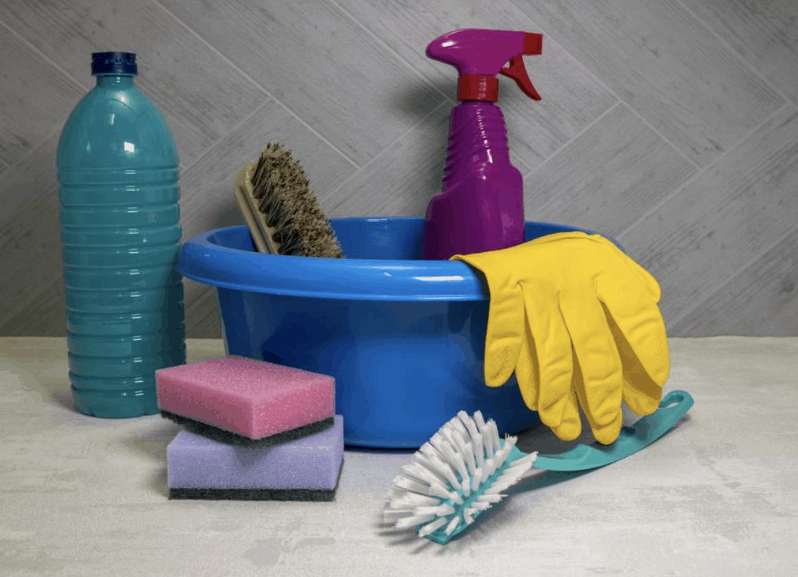 Sada vybavenia na čistenie
