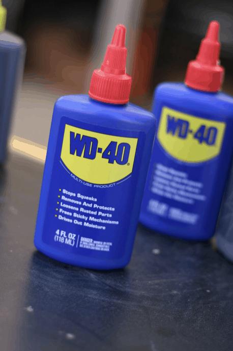 penetračné spreje WD-40